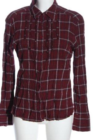 Casa Blanca Houthakkershemd geruite print casual uitstraling
