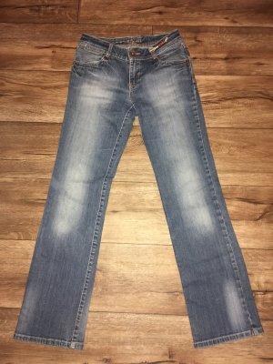 Casa Blanca Jeans vita bassa multicolore