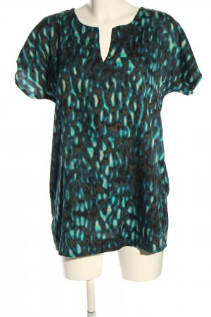 Casa Blanca Slip-over blouse abstract patroon casual uitstraling