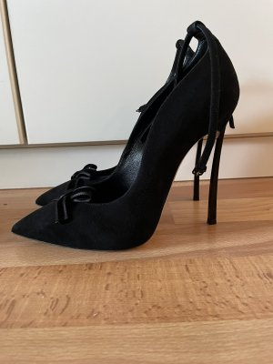 Casadei Pointed Toe Pumps black