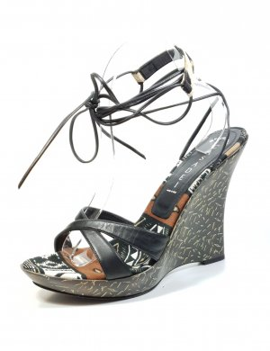 Casadei Strapped Sandals black