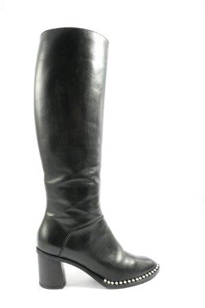 Casadei High Heel Stiefel schwarz Casual-Look