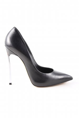 Casadei High Heels schwarz Business-Look