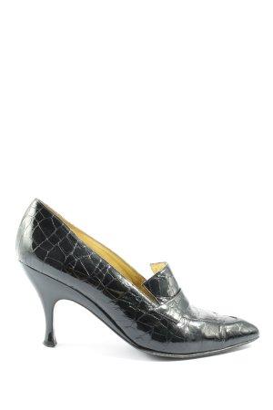 Casadei Zapatos Informales negro estampado de animales look casual