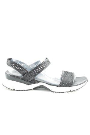 Casadei Komfort-Sandalen schwarz