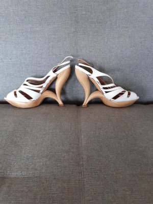 Casadei Pumps white