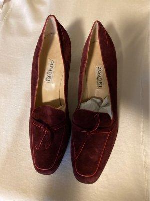 Casadei Chaussure décontractée bordeau