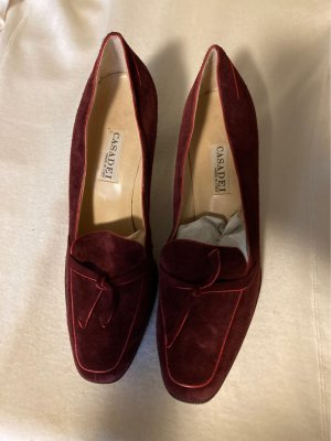 Casadei Loafers bordeaux