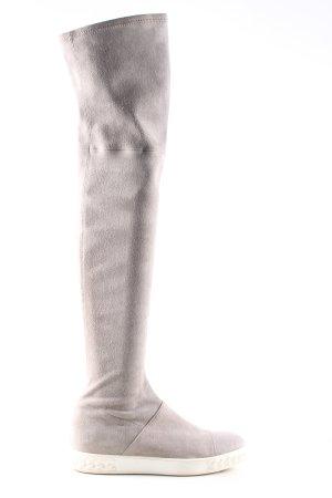 Casadei Cuissarde gris clair-blanc style décontracté