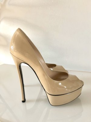 CASADEI Pumps High heels nude beige 36,5 original