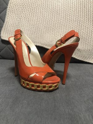 Casadei Platform Pumps gold-colored-orange