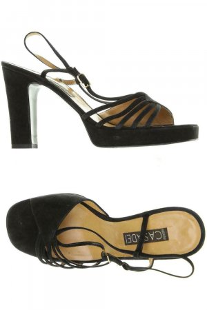 Casadei Outdoor Sandals black leather