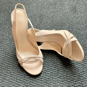 Casadei High Heel Sandal pink-nude leather