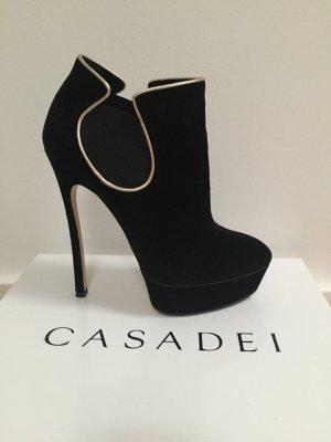 Casadei Booties black