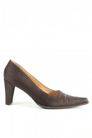 Casadei Pointed Toe Pumps brown business style