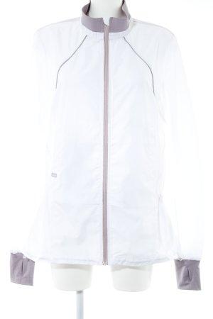 Casall Sportjacke wollweiß-blasslila sportlicher Stil