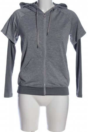 Casall Sweat Shirt light grey flecked casual look