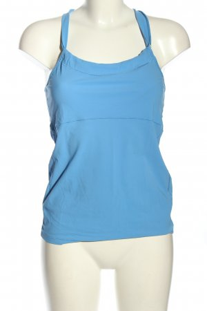 Casall Strappy Top blue simple style