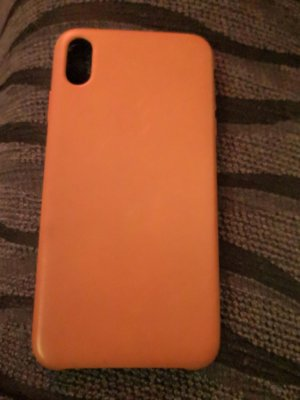 Case Apple IPhone 10 Pro Max Leder braun