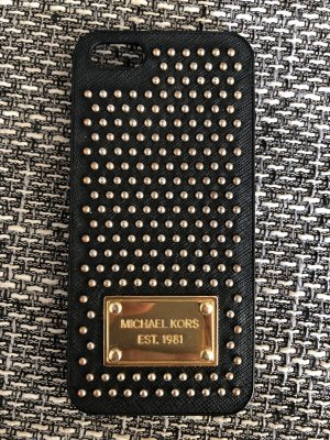 Michael Kors Key Chain black-gold-colored