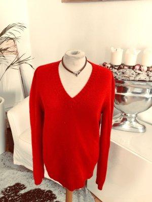 Bruno Manetti Cashmere Jumper red cashmere