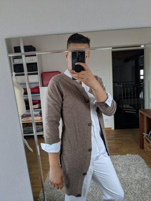 CASHFLOW Cardigan in maglia marrone-grigio