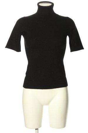 CASHFLOW Kaszmirowy sweter czarny W stylu casual