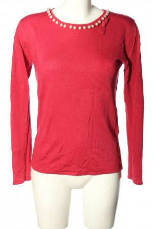 Cashmasoft Knitted Sweater pink casual look