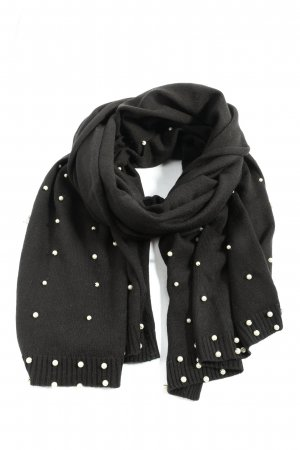 Cashmasoft Knitted Scarf light grey casual look