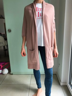 BCBG Maxazria Veste en tricot vieux rose