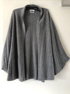 Vince Veste en tricot gris-gris clair cachemire