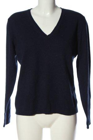 Cashmere Cashmerepullover blau Elegant