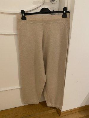 Allude Pantalone di lana crema