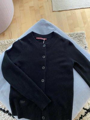 Comptoir des Cotonniers Giacca in maglia nero Cachemire