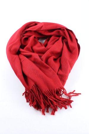 Cashmere Sciarpa in cashmere rosso stile casual