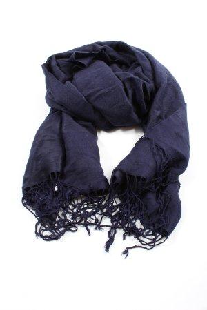 Cashmere Kaschmirschal blau Casual-Look