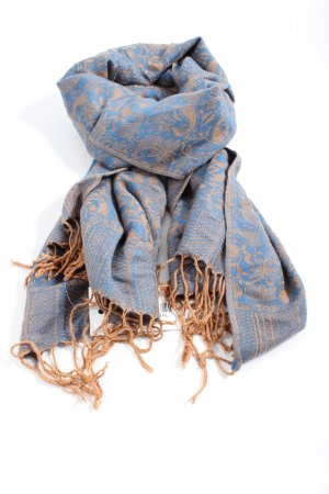 Cashmere Cashmere Scarf blue-brown allover print casual look