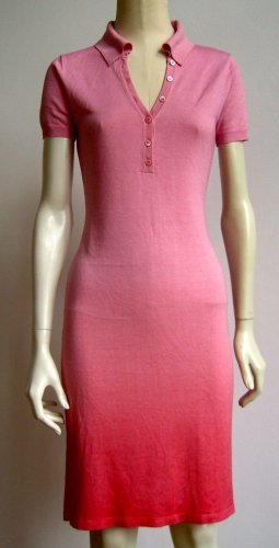 Robe Polo rose-rose cachemire