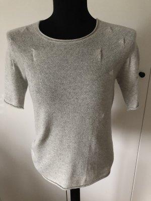 Jersey de manga corta gris claro