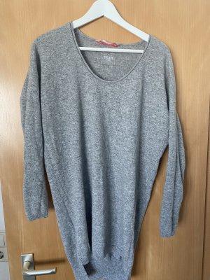 Dear Cashmere Long Shirt grey