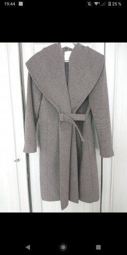 Mango Coat Dress grey cashmere