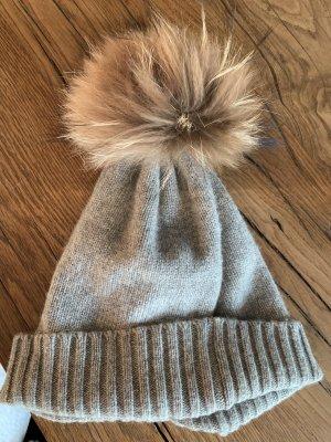 S.Marlon Fur Hat multicolored