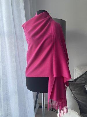 Parideluxe Sciarpa in cashmere rosa