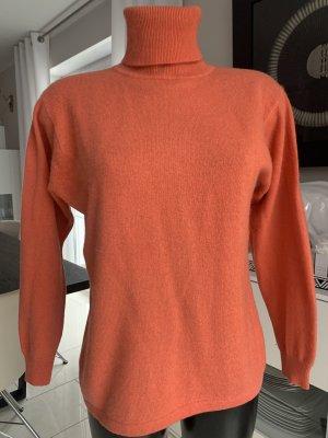 Cashmere Jumper dark orange-orange