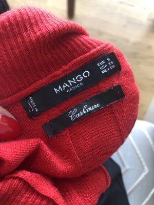Mango Pullover in cashmere rosso