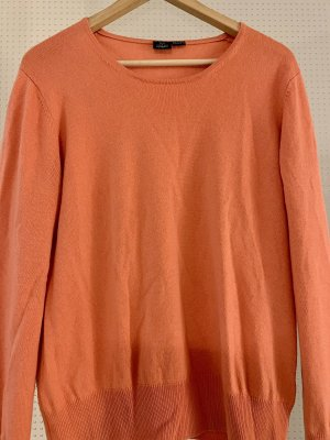 Adagio Cashmere Jumper orange