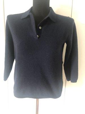 Cashmere Pulli blau XS