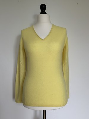 Darling Harbour Pullover in cashmere giallo pallido Cachemire