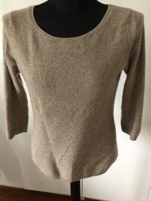 Max Tonso Cashmere Pullover in cashmere color cammello