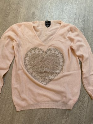 Camouflage Couture Pullover in cashmere rosa pallido Cachemire